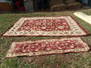"India house nourison 8'×10' 6"" area rug & runner for Sale in Farmville, VA"