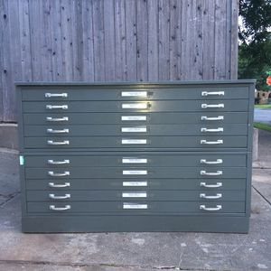 Filing cabinets for sale in oklahoma offerup vintage 10 drawer 54w flat file architectural blueprint cabinet for sale in oklahoma city malvernweather Image collections