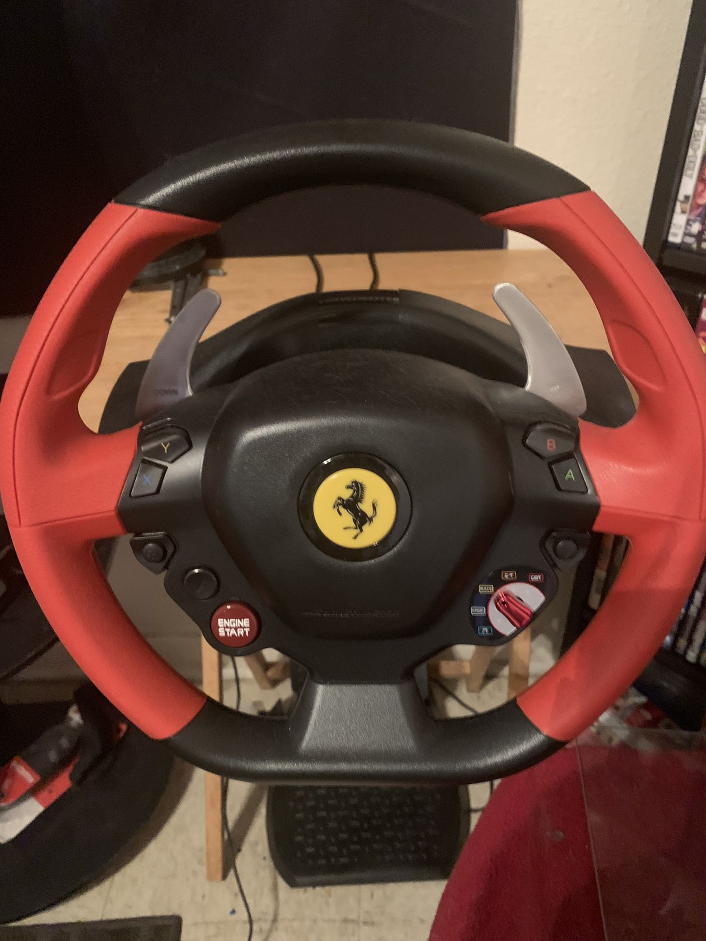 Xbox one driving wheel