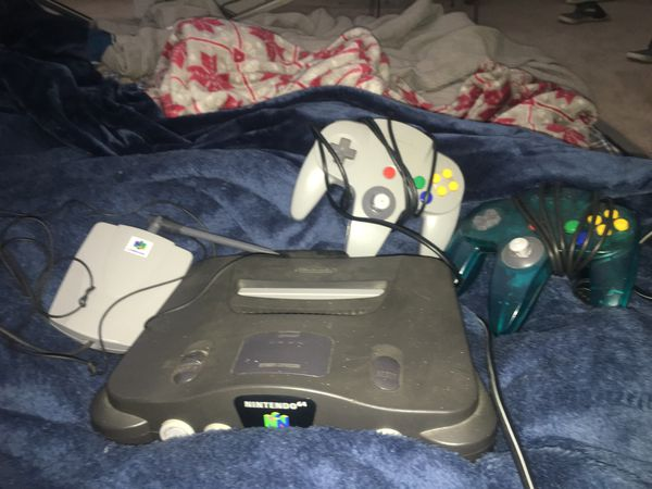 Nintendo 64 with games and controllers for Sale in Raleigh, NC - OfferUp