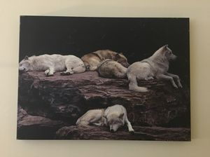 Picture de lobos .cuadros. for Sale in Gaithersburg, MD