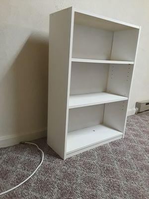 Matching white bookshelves for Sale in Sykesville, MD