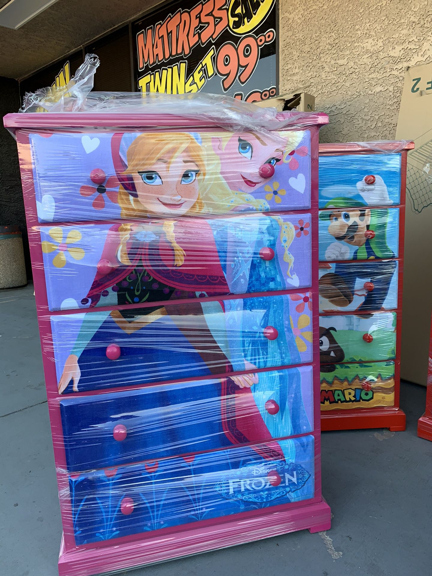 Character chest