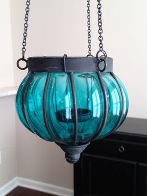 World Market glass votive candle holder for Sale in Sterling, VA