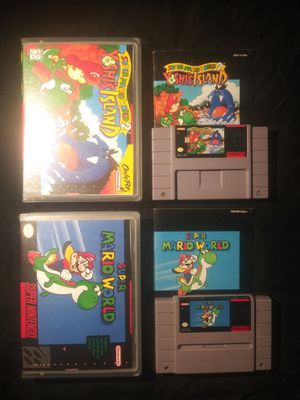 Super Mario World 1 And 2 Snes Nintendo For In Saint Petersburg Fl