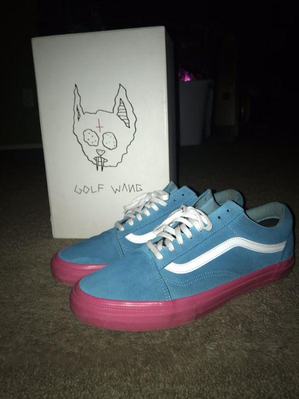 3fa884a11eb6 Golf Wang vans size 10.5 for Sale in Fontana