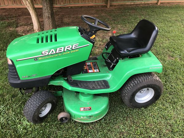 John Deere Sabre >> John Deere Sabre 14 5hp 38 Riding Lawn Mower For Sale In