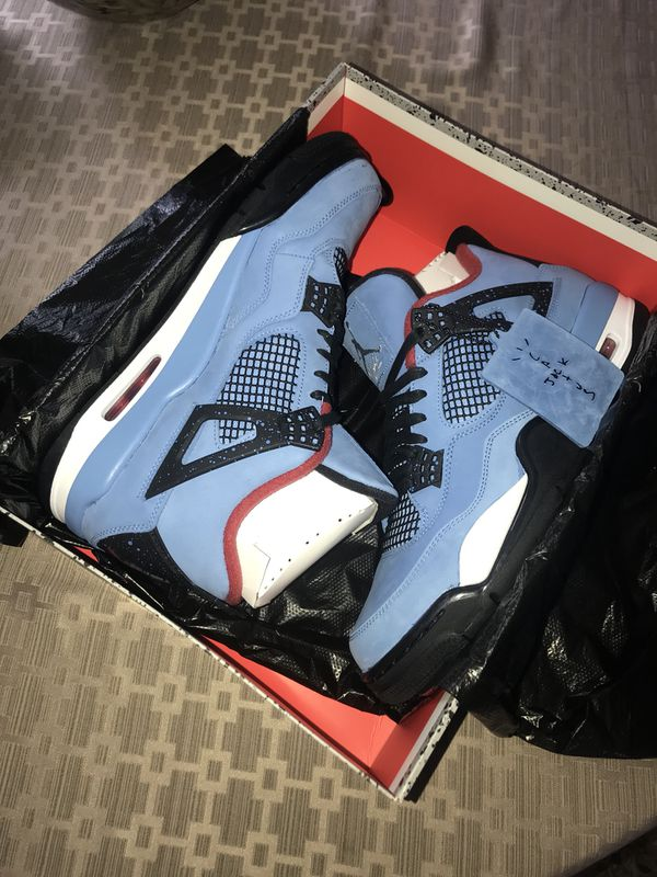 online store 66e48 a097a Travis Scott 4s for Sale in Shelby charter Township, MI - OfferUp