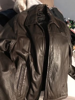 Dockers leather jacket XL lamb leather for Sale in Falls Church, VA