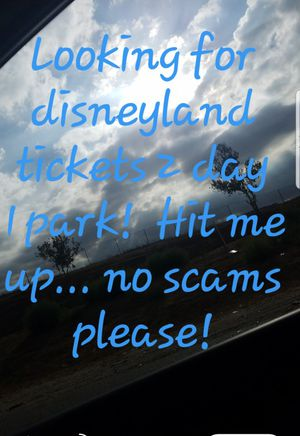 Need Disney tickets ! for Sale in Baltimore, MD