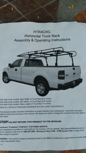 Universal truck ladder rack for Sale in Orlando, FL