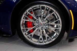 """2017 c7 Z06 corvette 20"""" OEM chrome wheels for Sale in Hyattsville, MD"""