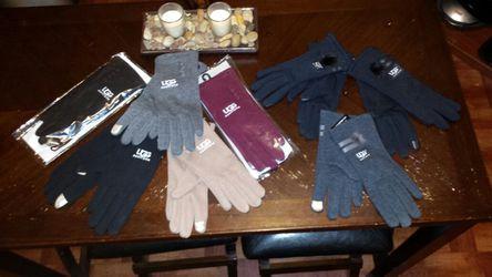 Ugg and North Face Gloves Thumbnail