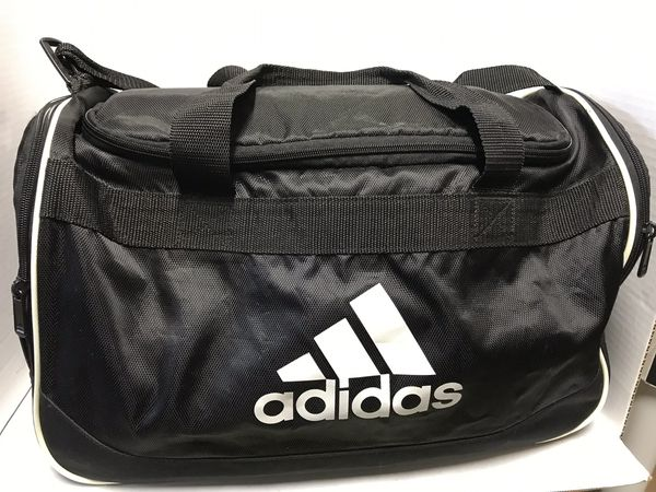 "Adidas Large Duffel Bag Black Sports Gym Bag 18"" for Sale in ... d17d15f92fd75"
