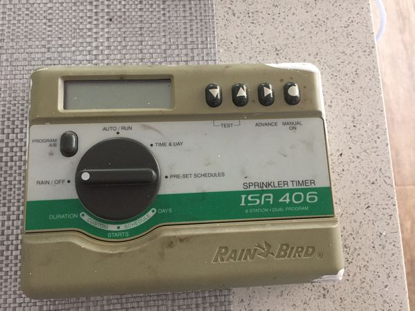 Rain Bird Sprinkler Timer for Sale in Riverview, FL - OfferUp