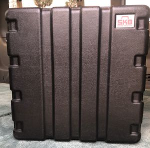 Photo SKB 10 Space Rack Case has for Amplifier and Effects Band DJ Studio