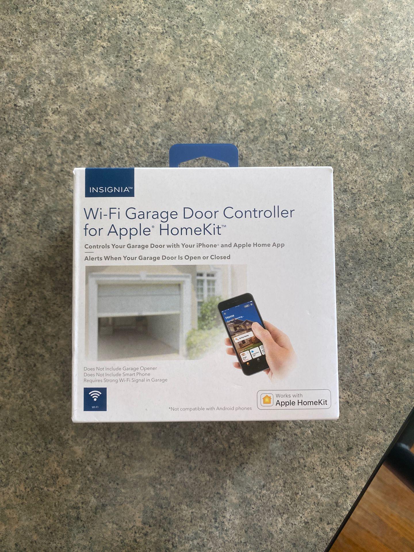 Insignia wi-fi garage door controller
