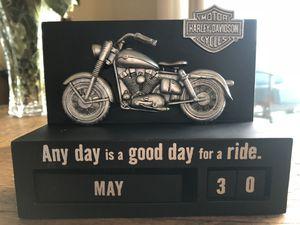Harley Davidson Perpetual Calendar by Hallmark for Sale in Alexandria, VA