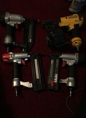 Power tools Nail gun and staple gun for Sale in Washington, DC