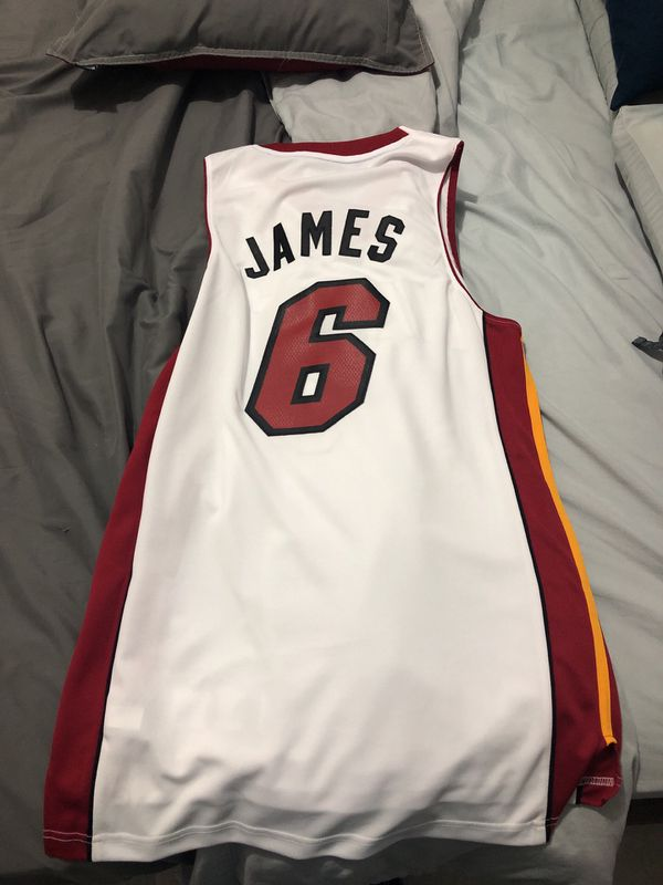 the latest d46cb 5e754 Lebron James Miami heat jersey adidas Home for Sale in Miami, FL - OfferUp
