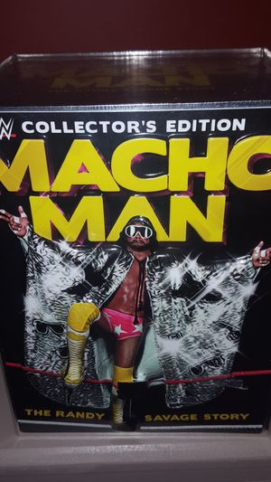 Limited Edition Macho Man Randy Savage Collector's Set for Sale in Gaithersburg, MD