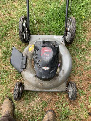 Photo Craftsman push mower 22 inch cut