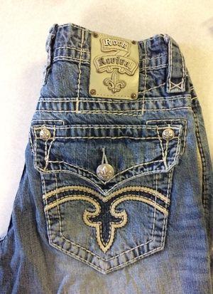 Photo Men's rock revival jeans 31X32