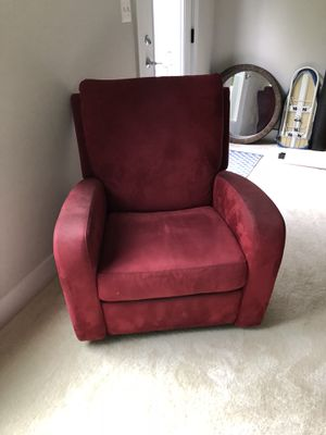 Big reclining couch and recliner chair!!! for Sale in Chantilly, VA