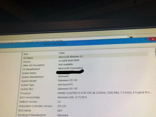 Alienware X51 Bios Update A06
