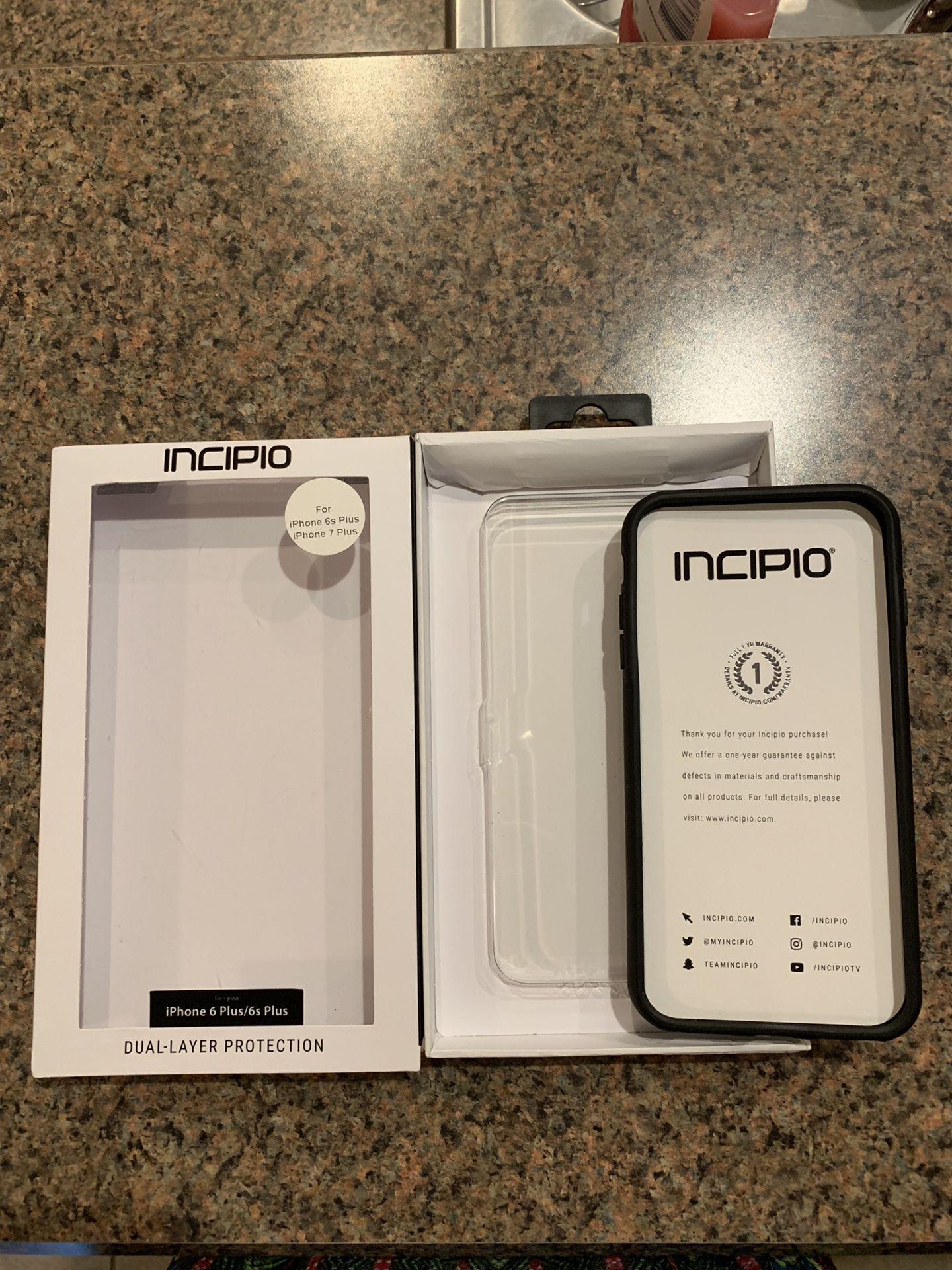iPhone 6, 7, 8 Plus Black Phone Case
