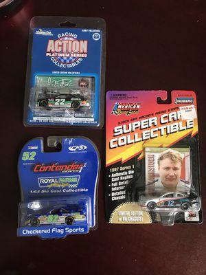 NASCAR car (all 3) 1:64 scale for Sale in Manassas, VA