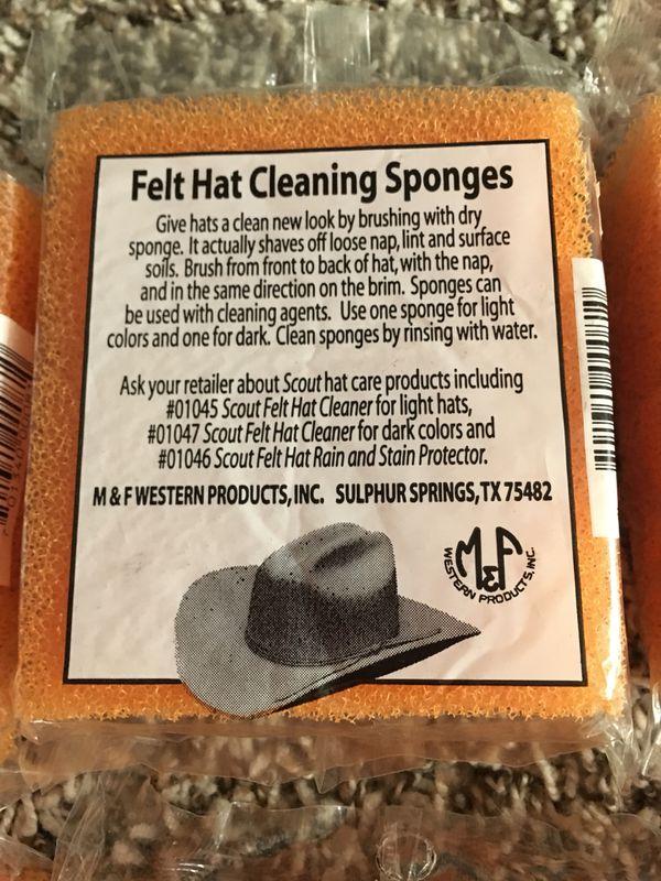 Felt Hat cleaning sponges (12) for Sale in Houston aa8984dbe282