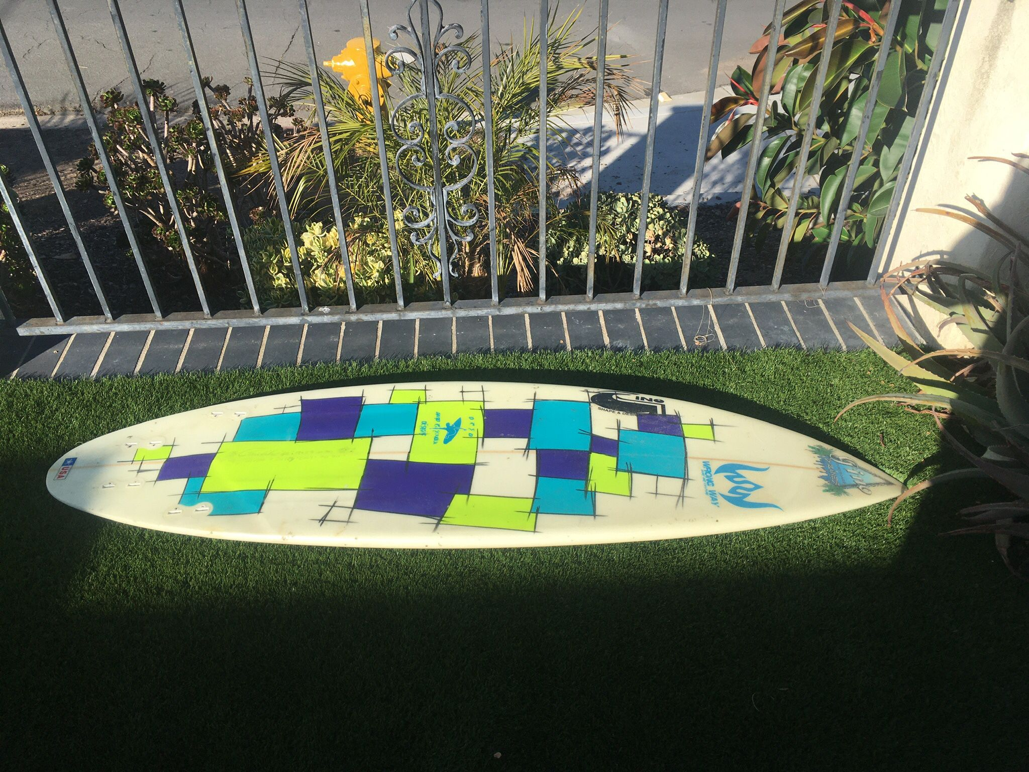6'0 Gino Surfboard Quad