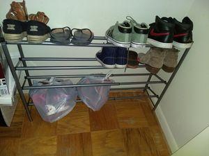 Metallic shoe rack for Sale in McLean, VA