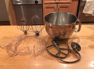Accessories for 6 qt Kitchen Aid Mixer for Sale in Wheaton, MD