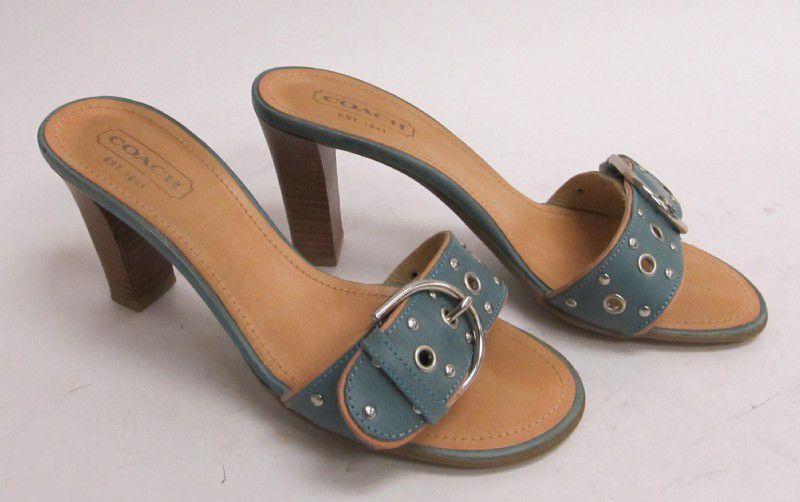 Coach sandals 7.5