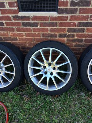 Photo 18 inch Cadillac Rims and Tires