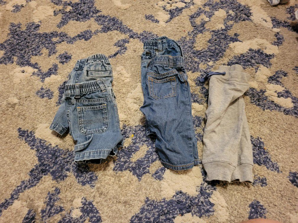 3-6 Month Pants And Shorts