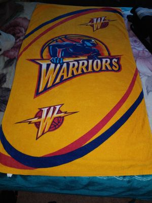 Warriors beach towel for Sale in San Jose, CA