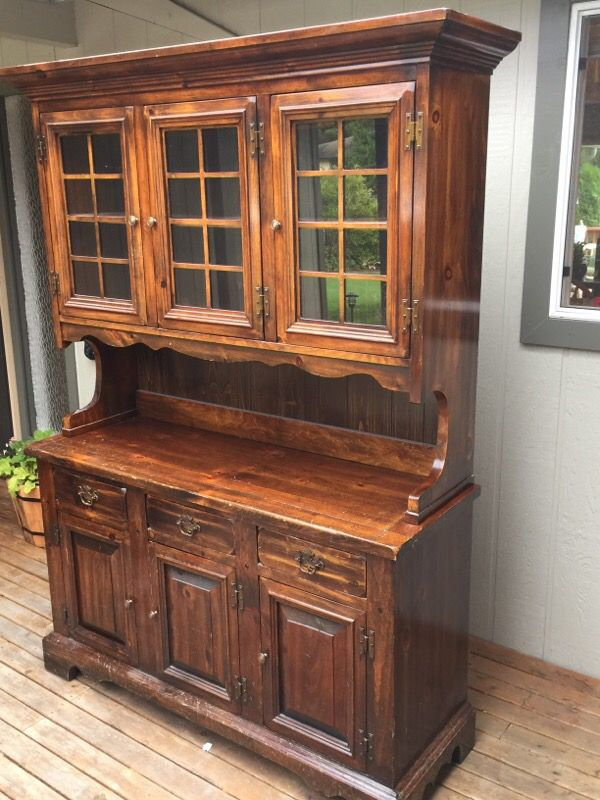 Solid Wood Hutch Open Hearth By Sears