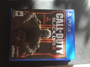 PS4 games. FIFA 16, CALL OF DUTY BLACK OPS 3, UNCHARTED 4 for Sale in Centreville, VA