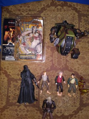 Spawn and Lord of The Rings Figures for Sale in Gulfport, MS