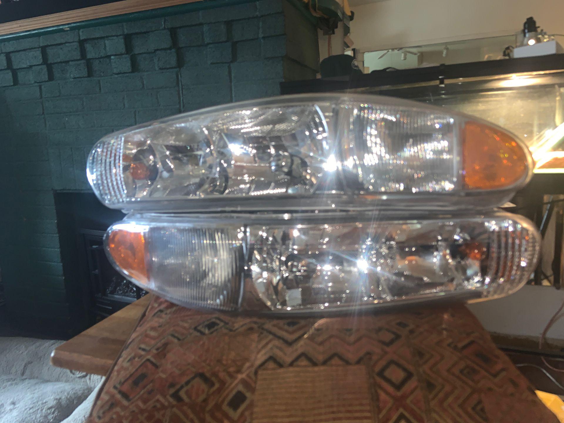 Brand new custom headlights for 1999 Buick Century