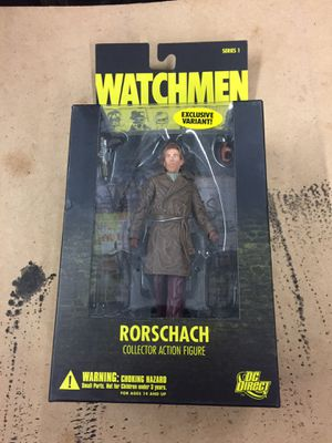 Watchman Collectible Action Figure for Sale in Garland, TX