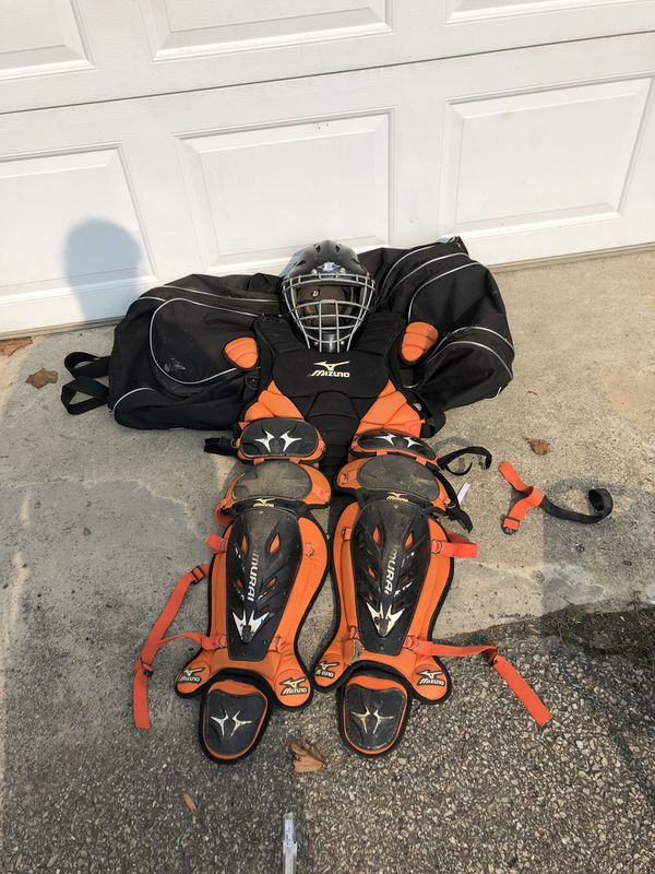 Mizuno Catchers Gear With Dicks Sporting Goods Catchers Bag For Sale