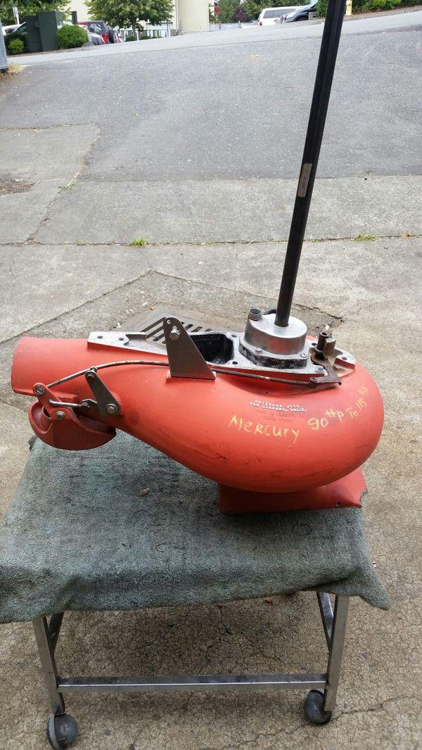 Mercury Outboard Jet Pump 90 hp for Sale in Kent, WA - OfferUp