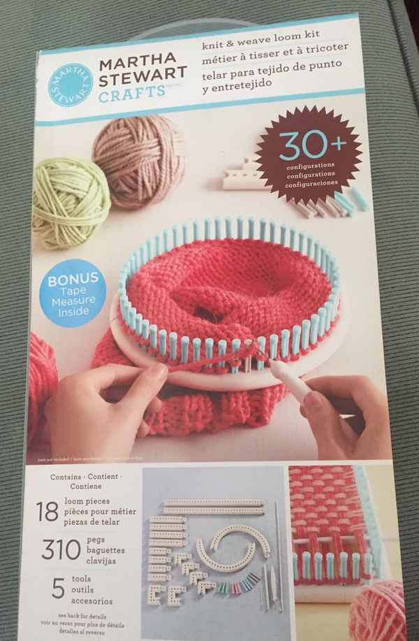 Martha Stewart Knit Weave Loom Kit Brand New Never Used For Sale