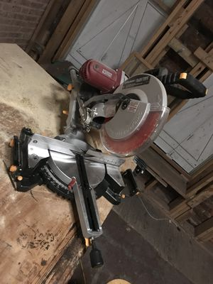 """12"""" compound miter saw for Sale in Baltimore, MD"""