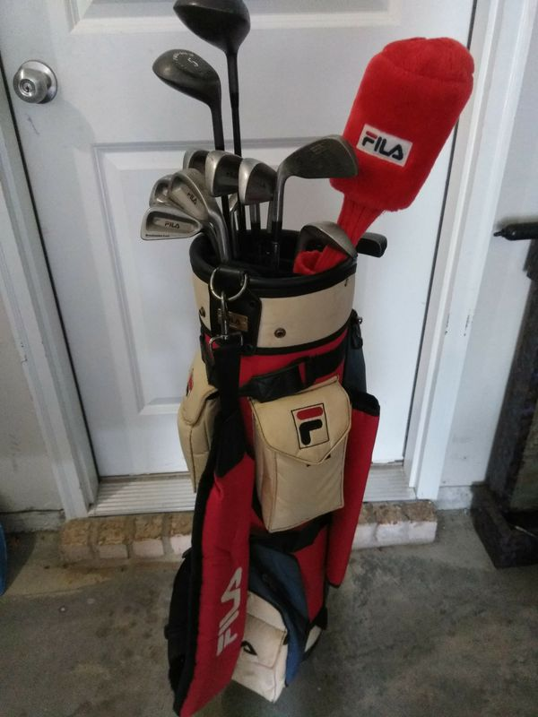8109c79c2ea2 Fila Golf clubs and bag for Sale in Loganville