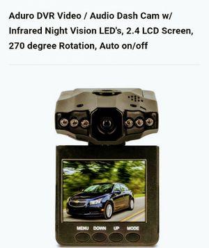 DVR/Audio Dash Camera 1080p for Sale in Richmond, VA
